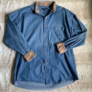 Burberry Chambray Button-Down